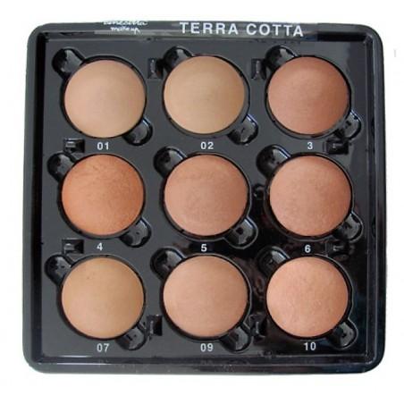 Tavolozza - 9 Terre Cotte - Make-Up - Cinecittà