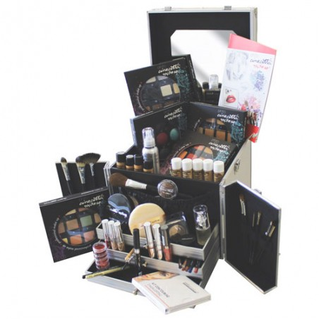 Valigia Trucco In Alluminio Grande Piena - Cinecittà Make-Up
